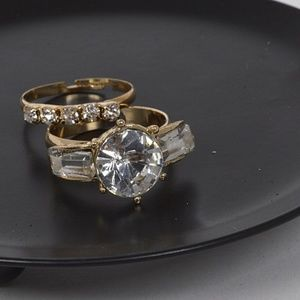 Jewelry - (NEW)Two Luxury Rings